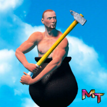 main icon of getting over it apk game