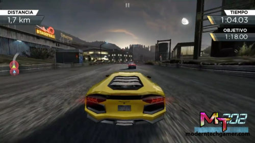 need for speed most wanted apk gameplay