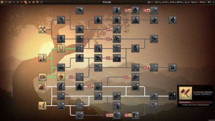 Old World Early Access Preview Impressions 4x Civilizations Crusader Kings Tech Tree