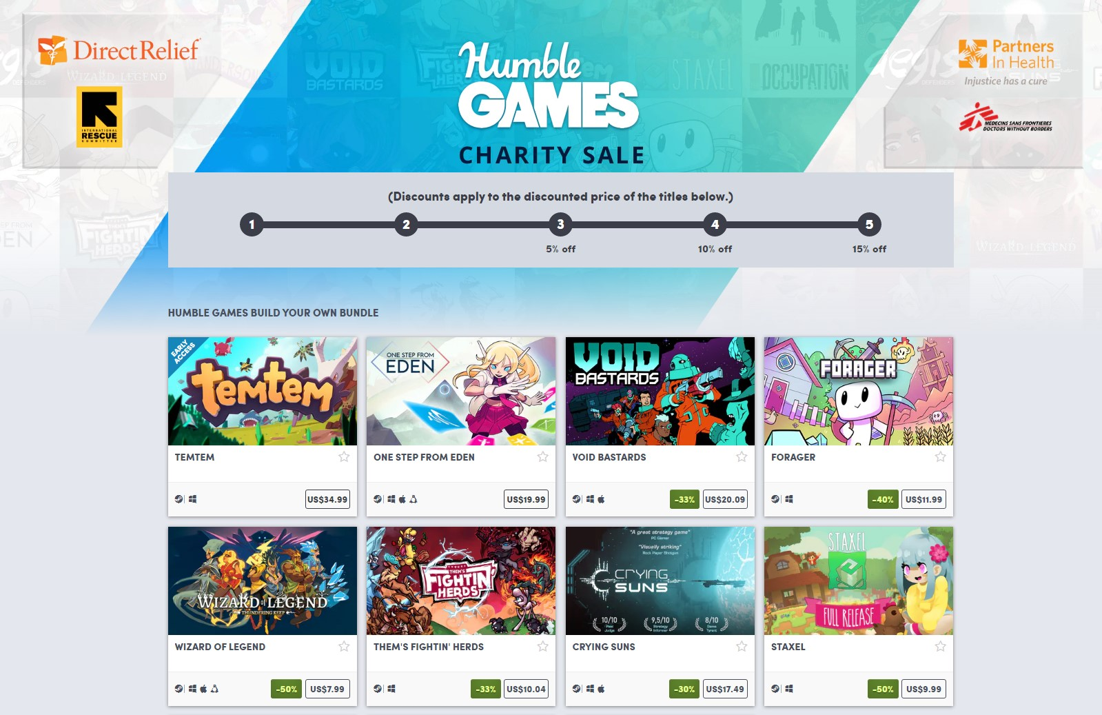 Humble Bundle Launches Dedicated Indie Publishing Arm Humble Games With Covid 19 Charity Sale (2)
