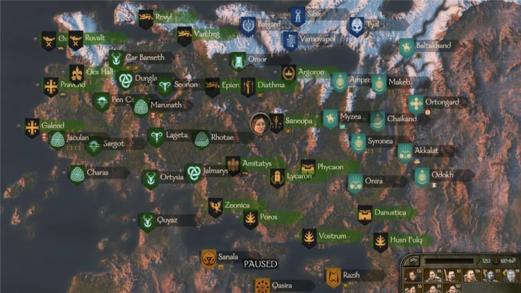 Mount & Blade Ii Bannerlord Mount And Blade 2 Bannerlord Early Access Review Impressions Calradia Map