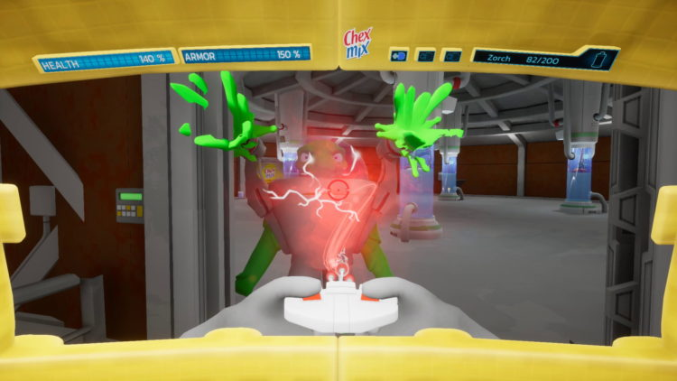 Chex Quest Hd Preview Slimed
