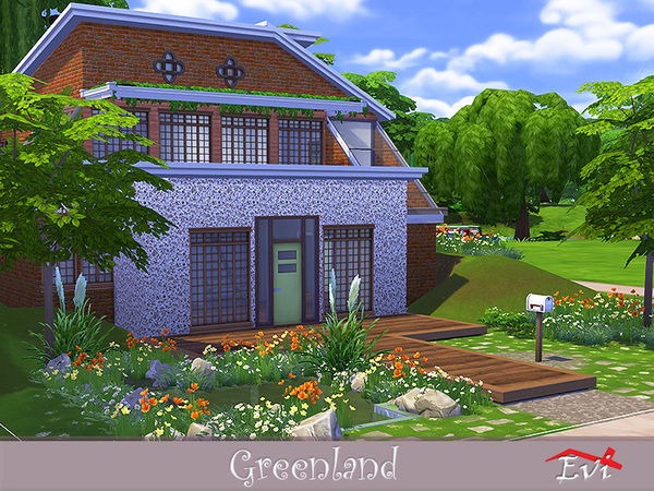 Greenland The Sims 4 Eco Friendly Mods