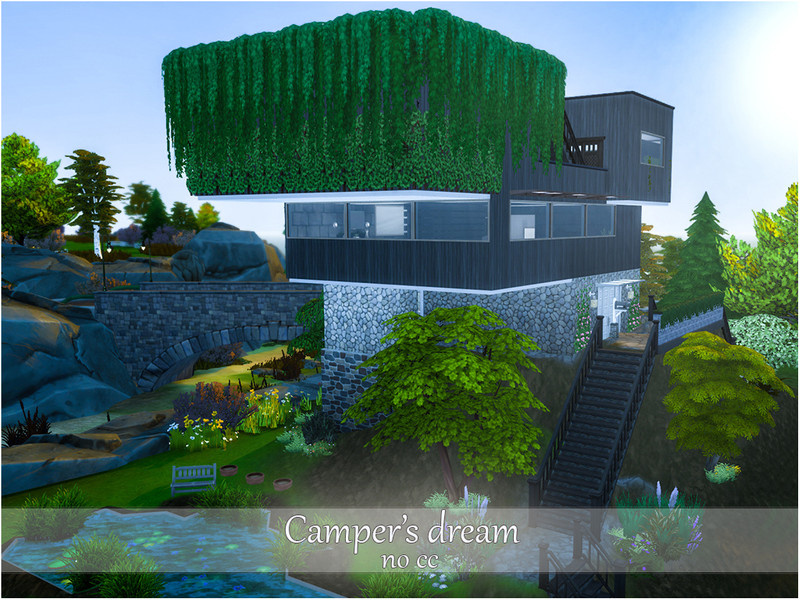 Campers Dream The Sims 4 Eco Friendly Mods