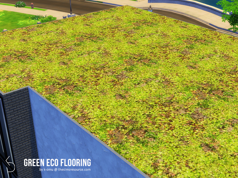 Green Eco Flooring The Sims 4 Eco Friendly Mods