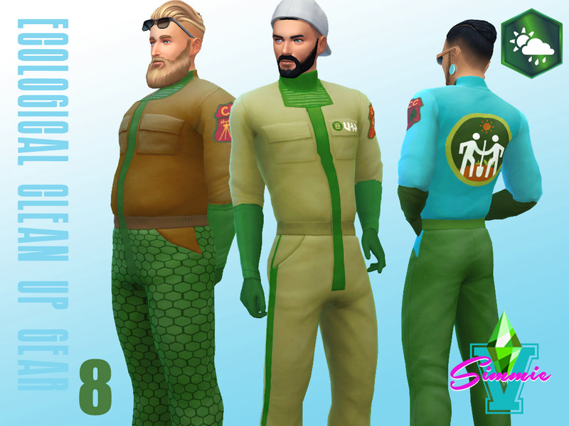 Simmiev Eco Clean Up Gear The Sims 4 Eco Friendly Mods
