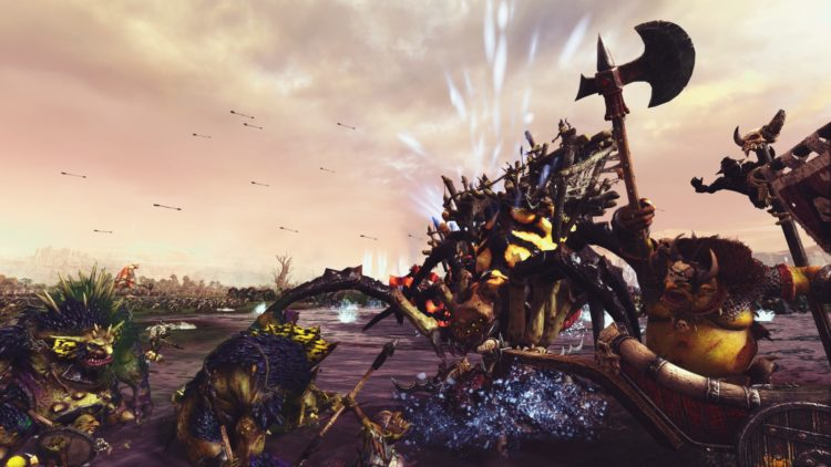 Total War Warhammer Ii The Warden & The Paunch Greenskins Overhaul Waaagh Scrap Grom The Paunch 7 End