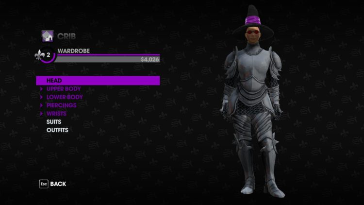 Saints Row the third remastered technical review - costume old