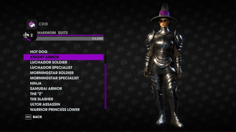 Saints Row the third remastered technical review - costume new