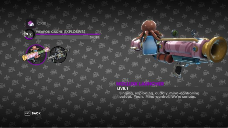 Saints Row the third remastered technical review - weapon new