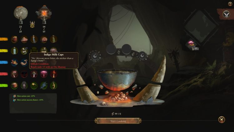 Total War Warhammer Ii The Warden And The Paunch Warhammer 2 Grom's Cauldron Guide Grom's Cauldron Recipes Ingredients 1