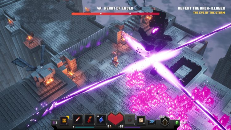 Minecraft Dungeons Arch Illager Boss Guide Heart Of Ender 3