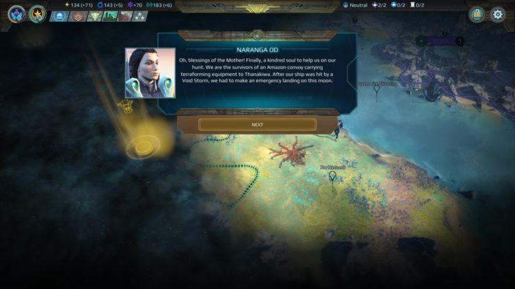 Age Of Wonders Planetfall Invasions Review Invasions Expansion 1 Shakarn