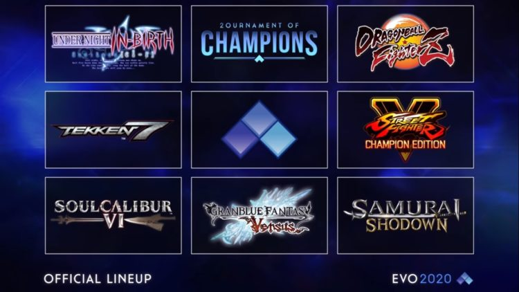 Evo Online Official Exhibition Lineup