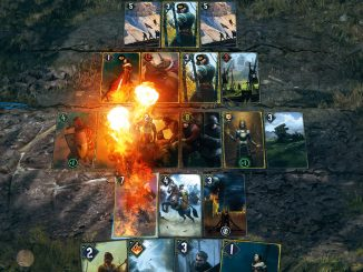 Gwent: The Witcher Card Game starts the hunt on Steam