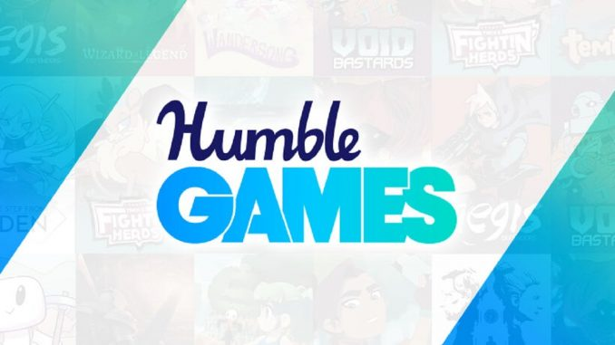 Humble Games is the new dedicated Humble Bundle publishing arm