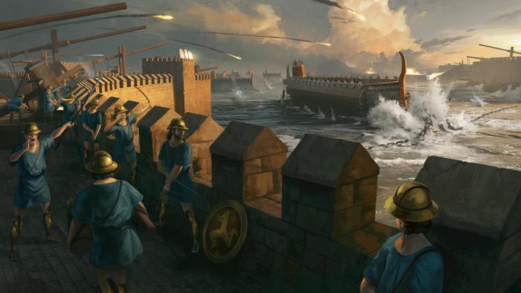 Imperator Rome Guides And Features Hub Magna Graecia Archimedes Greek Navy