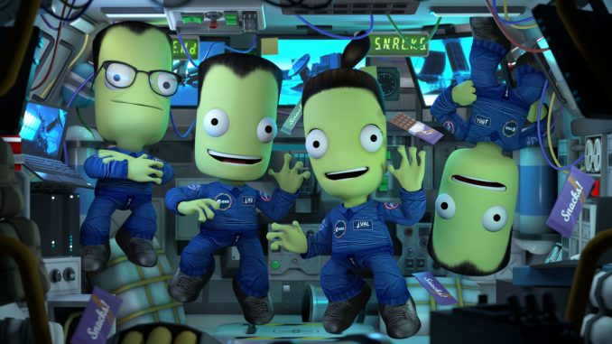 Kerbal Space Program partners with European Space Agency for free Shared Horizons update