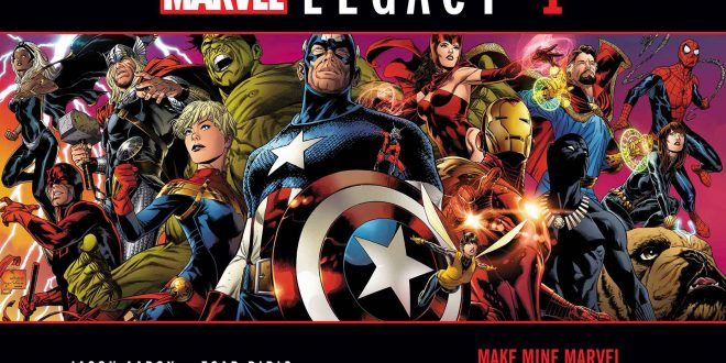 Marvel Comics lays out its Legacy in new event book