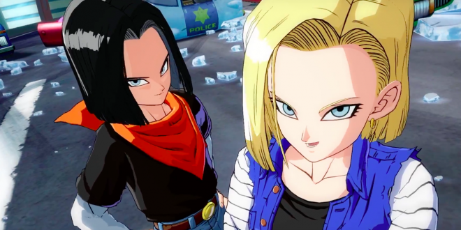 The androids arrive in new Dragon Ball FighterZ trailer