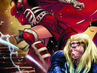 Thor #4 features all-out brawl between Thor and Sif