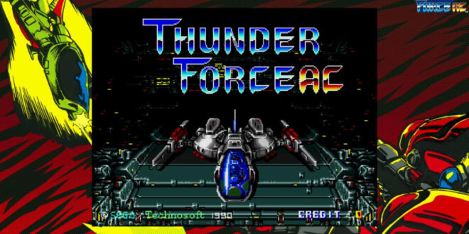 Thunder Force AC coming to Sega Ages on Switch