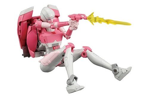Arcee joins the Masterpiece line of Transformers figures