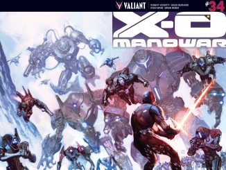 The Dead Hand are coming for Aric in X-O Manowar #34
