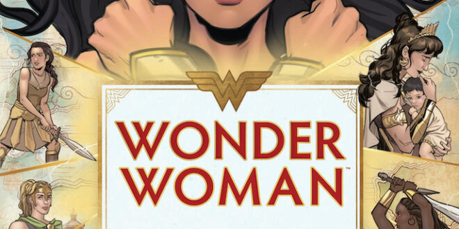 Exclusive imagery from Insight Editions' Wonder Woman: The Way of the Amazons