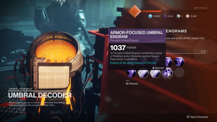 Destiny 2 Season Of Arrivals Leveling Umbral Engrams Cheese 3