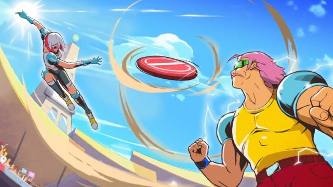 Windjammers 2 demo available for limited time on PC for Steam Festival