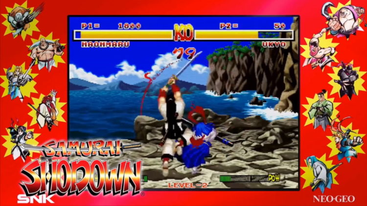 Samurai Shodown Neo Geo Collection Ark Free Epic Games Store Feat
