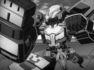 Black-and-white mech brawler RPG Wolfstride smashes its way to 2021
