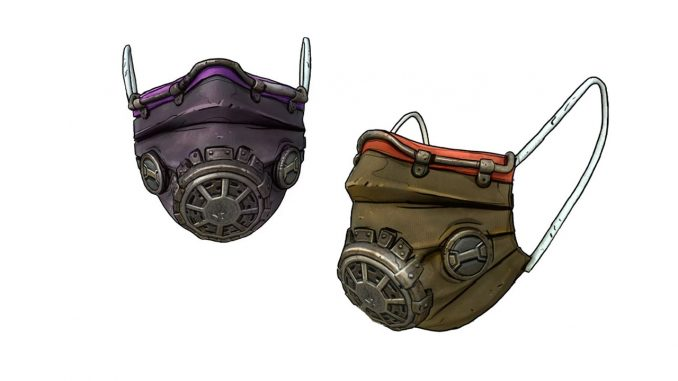 Get a Borderlands 3 digital face mask by donating to Direct Relief