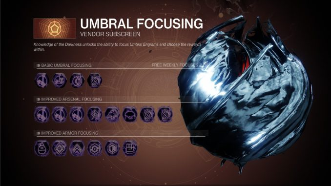 Destiny 2: Umbral Engrams leveling cheese