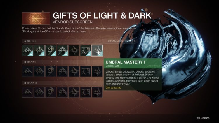 Destiny 2 Season Of Arrivals Leveling Umbral Engrams Cheese 1