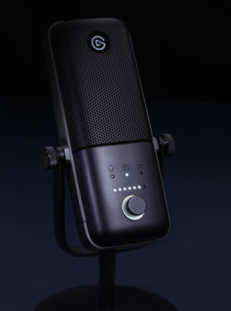 Elgato Wave:3 microphone close up