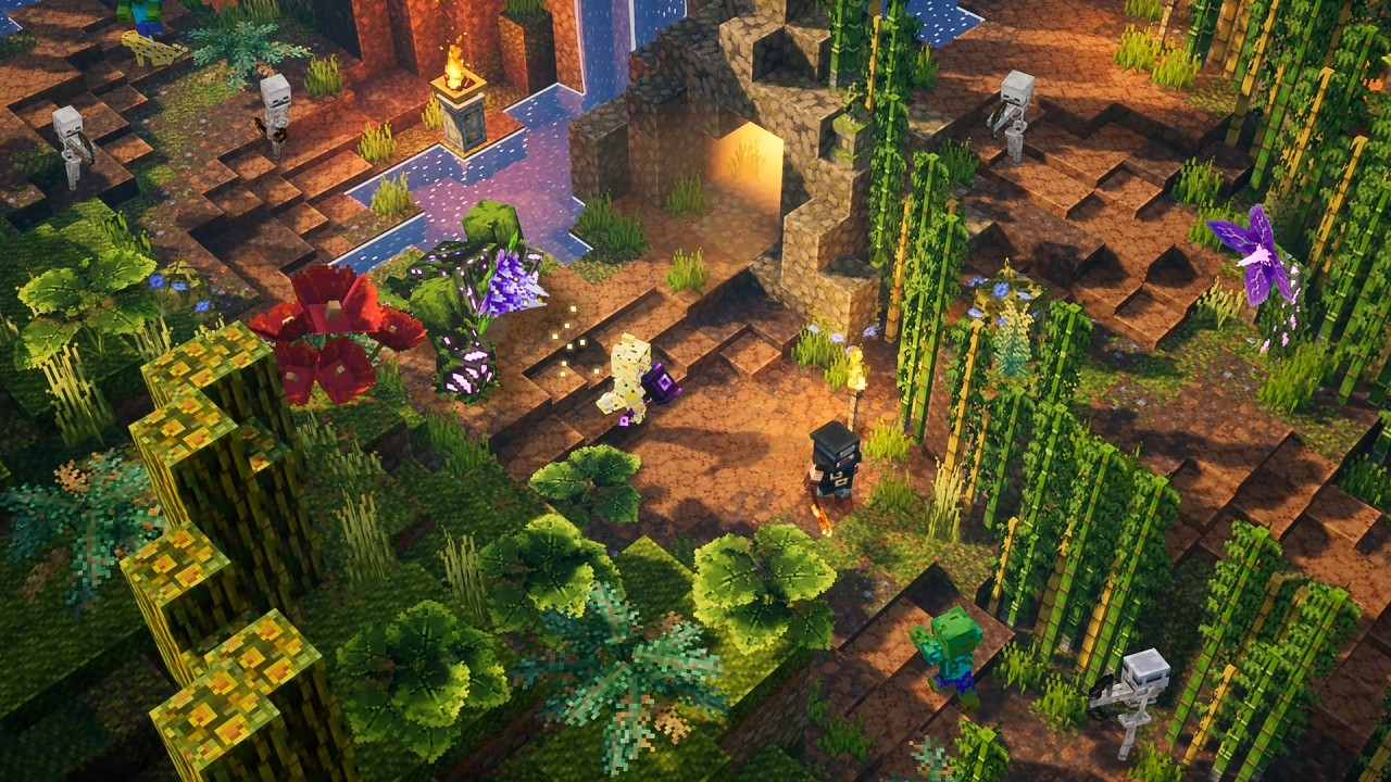 First Dlc For Minecraft Dungeons Coming In July With Jungle Awakens (4)
