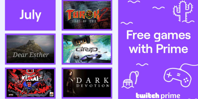 July '20 Twitch Prime freebies feature Turok 2, Dear Esther and more