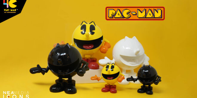 New PAC-MAN statues coming up from Neamedia