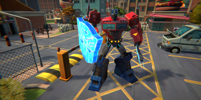 New Transformers game announced, Battlegrounds hits this fall
