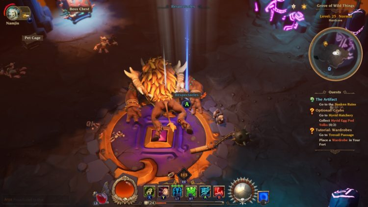 Torchlight Iii Torchlight 3 Refund Skill Points Respec Respectacles 1a
