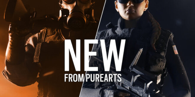 PureArts debuts new Tom Clancy's Rainbow Six Siege figures