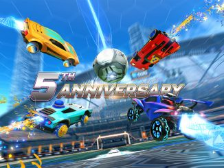 Rocket League fifth anniversary event is full of balloons