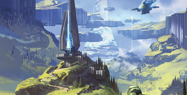 The Art of Halo Infinite coming up from Dark Horse