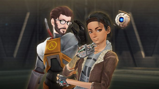 Phantasy Star Online 2 is getting Half-Life and Team Fortress 2 content in Steam release
