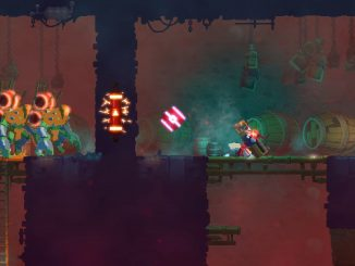 Barrel your way through a new level in the Dead Cells Barrels O' Fun update