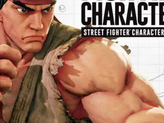 Street Fighter character design book coming from Udon