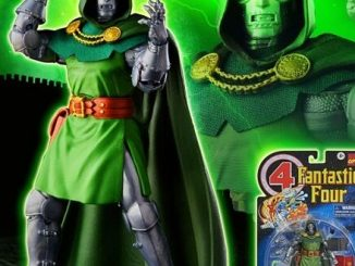 Hasbro debuts retro Fantastic Four packaging and new Doctor Doom figure