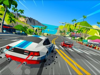 Boxy arcade styled Hotshot Racing set for September release date